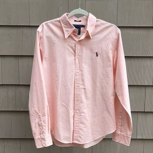 Ralph Lauren Stripe Button-Up